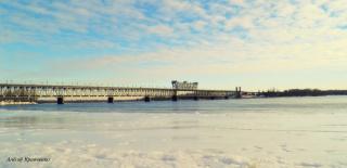 Кременчугский мост.