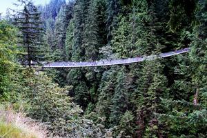 Как называется этот знаменитый мост в Канаде?