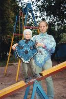 пончо себе и доче