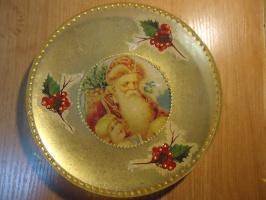 Новогодняя тарелочка