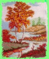 Осенняя березка.