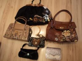 Эксклюзивные сумки с росписью и аппликацией.