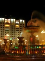 Ночной фонтан 1