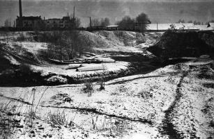 Родинский пейзаж в апреле 1974 года.