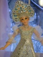 Куколка Снегурочка от Ларисы Исаевой