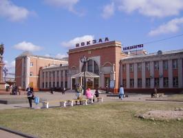 Вокзал г. Биробиджана