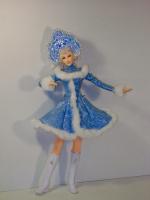 Куколка Снегурочка2 от Ларисы Исаевой