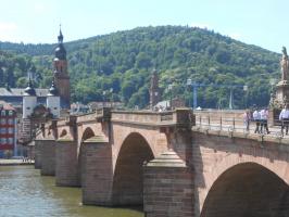 Старинный мост. Хайдельберг. Германия