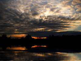 Рассыпались по небу облака......