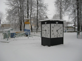 Зима в парке 2