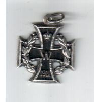 Фрачный знак Железного креста, 1914-1918 г.г