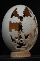 страусиное яйцо /резьба/