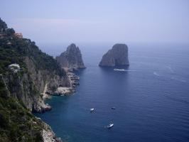 Италия. остров Капри.