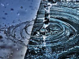 Столб воды