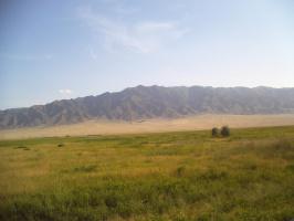По дороге в Бишкек