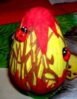 Оформление пасхального яйца