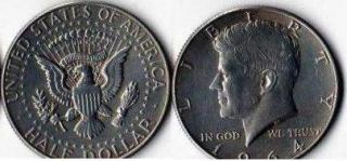 50 центов. США. 1964г.
