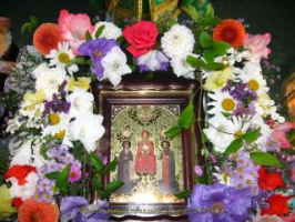 Икона в Храме Святых Преподобных Антония и Феодосия Киево-Печерских