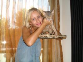 Моя дочь Катерина и наша любимица Ива
