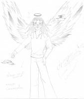 ангел в пятнышко