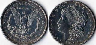 1 доллар. США. 1921г.