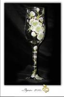 Новый авторский курс по декорированию предметов - бокалы, мобильные телефононы, вазы, очки, заколки, обручи, ручки и др.
