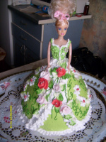 Тортик-Барби.