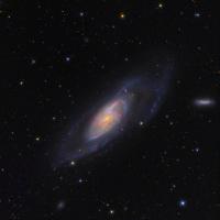 Мессье 106 ( дальность 21 000 000 свет. лет )