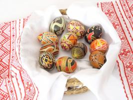 Славянская писанка к Светлому Воскресению
