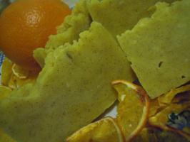 """Мыло с нуля """"Любовь к апельсинам"""""""