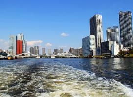 Путешествие по реке Сумида (Токио)