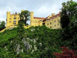 Замок Хоэншвангау (южная Бавария) - серия снимков
