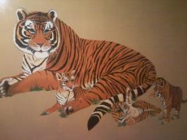 Татьяна Рябова - Тигриная семейка