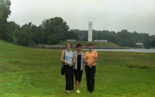 Перед отъездом...Август 1995.