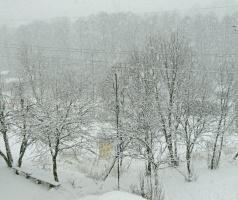 Воскресный снегопад 27 ноября.