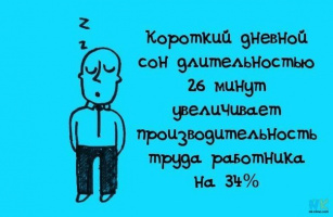 Дневной сон полезен