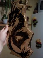 дракон вид сбоку