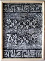 Виноград (рельеф, роспись)
