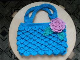 Авторская сумочка для маленькой модницы.