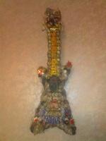 гитара из ракушек, делала 3 недели
