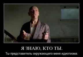 Я знаю кто Ты