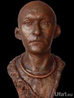 Пластическая реконструкция лица по черепу мужчины-сармата.