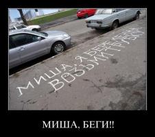 Беги, Миша, беги!