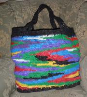 Вместительная дачная сумка