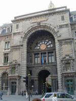 Вокзальные часы. Антверпен