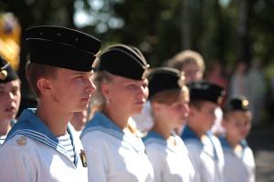 Юные моряки