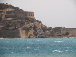 о.Крит остров-крепость Спиналонга
