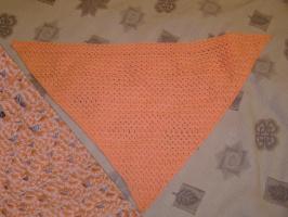 Косынка. цвет персик (или лосось...)