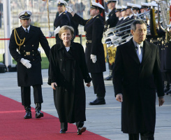 Канцлер Германии Ангела Меркель и премьер-министр Сингапура Ли Сяньлун