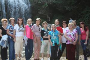 Лидеры Валери Элит Южного региона у Водопада Руфабго
